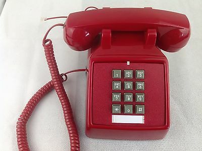 Cortelco - Vintage - Corded Telephone - Phone - Push Button - 250047-VBA-20MD