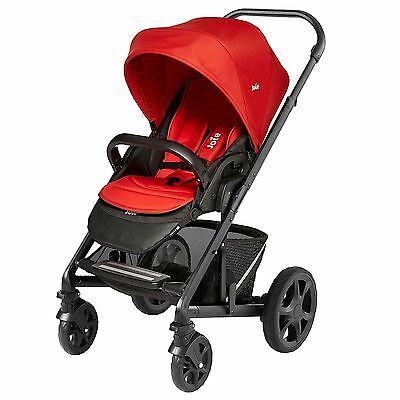 Joie Baby/Child Chrome Plus Colour Pack Tomato Red- COLOUR PACK ONLY