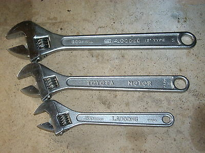 3 Shifting spanners, see description.