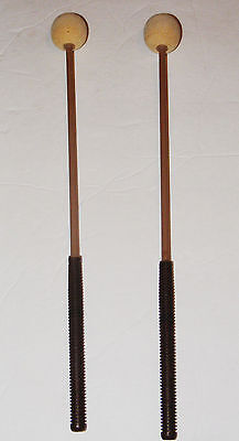 Xylophone Sticks  Studio 49 Replacement Playing Vintage Molded Plastic Cush Top