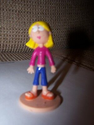 Disney Store Lizzie McGuire  Figurine Toy Party Favor Cake Toppers