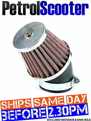 Pit Dirt Bike K N AIR FILTER RED 46mm 44mm 42mm Carburettor Honda 125cc 140cc