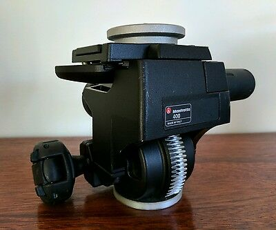Manfrotto400 Deluxe Geared Head (Quick Release) - RRP $1100
