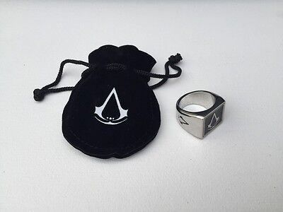 Signet Ring : Assassin's creed 3 [ Promo / French Edition ] New