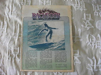 Backdoor Surfing Magazine May 1976