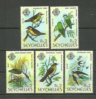 SEYCHELLES  1977  Complete series 5 Stamps** (3579z)