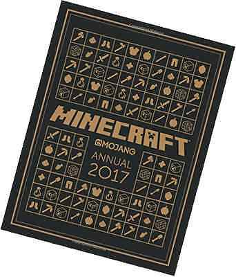 Minecraft Annual 2017 Official Hardcover Minecraft Game Book