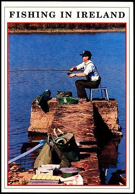 Fishing In Ireland  Dennis Print Real Photo No 1007521L