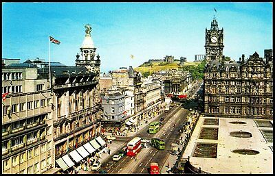 Princes Street And Calton Hill From Scott Monument37004