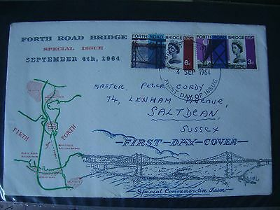 First Day Covers Gb Forth Road Bridge