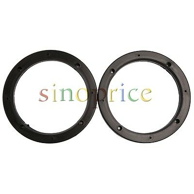 2pcs Auto Universal Vehicle Car Speaker Spacers Adaptor Holder 6.5 Inch
