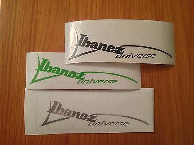 Ibanez Universe Decal