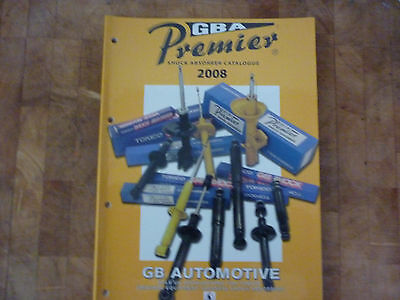 Premier Shock Absorber Catalogue 2008. 66 Pages. Used