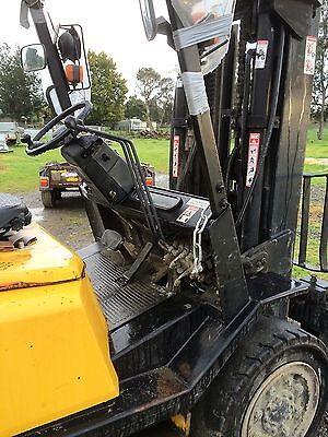 Yale 4T Container Mast Forklift Auto Gas