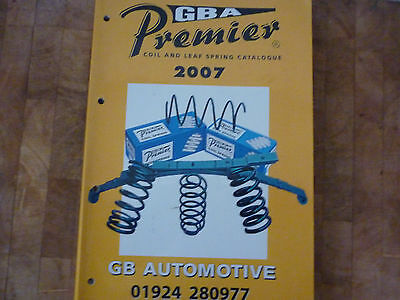 Premier Coil And Leaf Spring Catalogue. 2007. Used