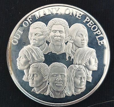 1978 JAMAICA Ten Dollar Silver PROOF Coin...(People Unity)...