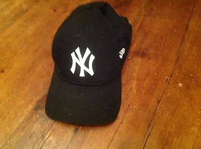 Black Baseball Cap, NYC, one size fits all