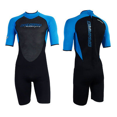 CAMARO SEMIDRY SHORTY MEN Herren Wetsuit Neoprenanzug Neopren Shorty 232326m