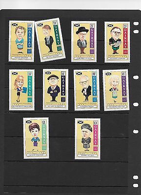 CORONATION STREET 35th ANNIVERSARY ISSUE GAIRSAY 10 STAMPS