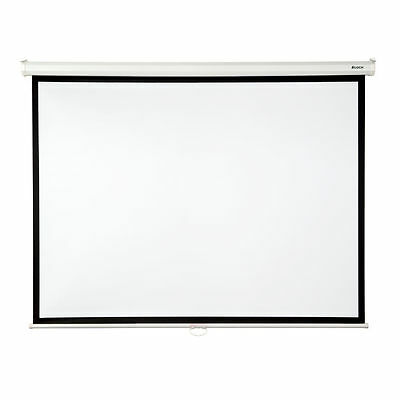 "Loch White 84"" diagonal Manual Projection Screen"