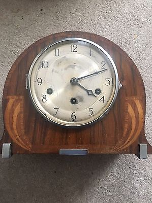 Mauthe Antique Westminster Chimes Mantel Clock