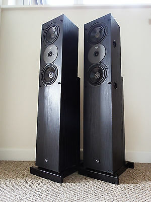 Vintage Royd Audio Doublet Stereo Speakers / Main / Rare / Incredible / Stands