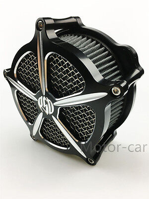 For Harley Touring Deep Cut Air Cleaner Intake Filter roadking FLHTC FLHT 08-16