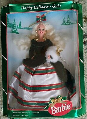 Barbie Doll Happy Holidays Gala Special Edition