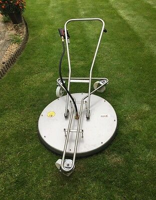 Rotary Flat Surface Patio Cleaner Turbo Devil - Pressure washing