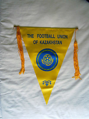 Old big size pennant Of Kazakhstan Football Federation