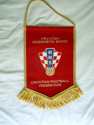 Embroidered pennant of Croatian Football Association