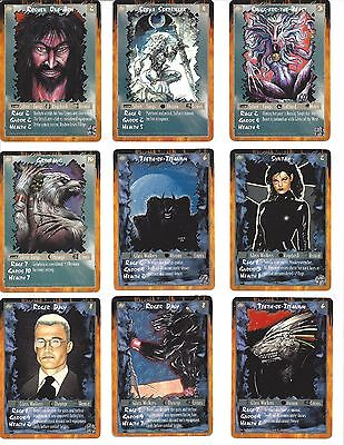 Rage CCG Character Cards Lot