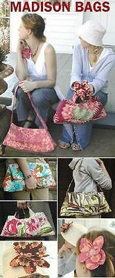 Amy Butler Midwest Modern Madison Bags Sewing Pattern Uncut Ab011Ma