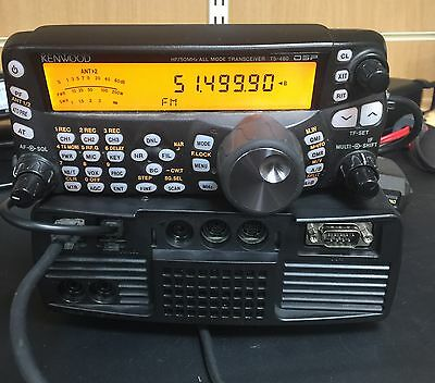 Used Kenwood TS-480SAT HF To 6M Transceiver