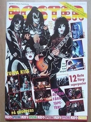 kiss special poster magazine 76-77