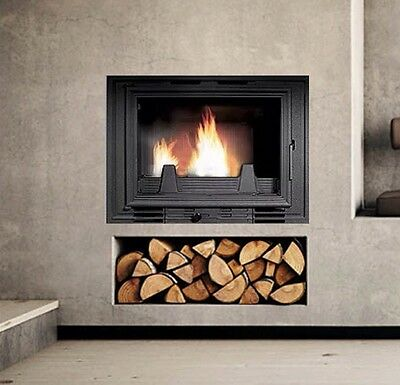 Inset Stove Multifuel Fire Wood Burner Plasma/Cassette Style New Guaranteed