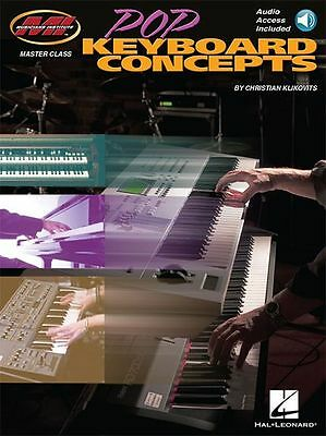 Pop Keyboard Concepts LEARN TO PLAY Rock Funk Piano MUSIC BOOK & Online Audio