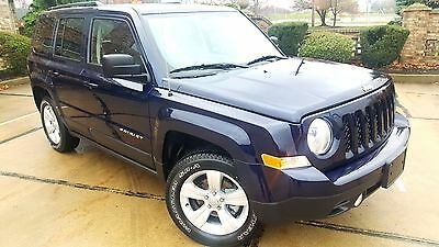 2016 Jeep Patriot Latitude edition 4x4 4x4 Latitude Only 9,998 Miles Alloy wheels Bluetooth CD Cruse control Like new