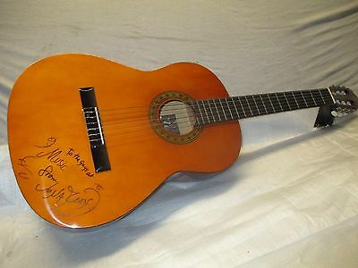GUITAR SIGNED by JONATHAN RICHMAN