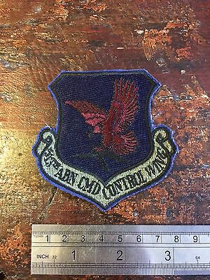 USAF Patch USAFE 513 ACCW Airborne Command And Control Wing Crest 1988