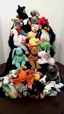 Ty Beanie Babies, Lot Of 25