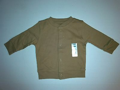 Baby Boy Assorted Solid Colors Snap Front Cotton Jacket Newborn to 6-9 Month NEW