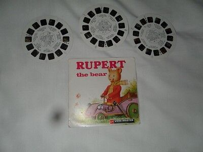 Rupert The Bear Collectable View Master Slides