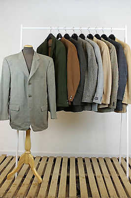 Job Lot 10 X Vintage Mens Blazer Jackets