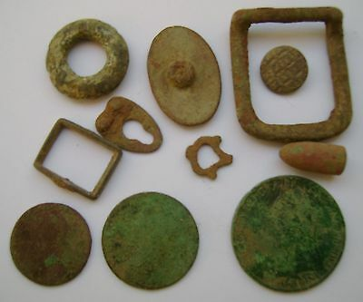 Various Mixed Metal Detecting Finds (342
