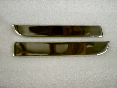 Lambretta Li/sx/tv/special Polished Stainless Steel Legshield Side Protectors