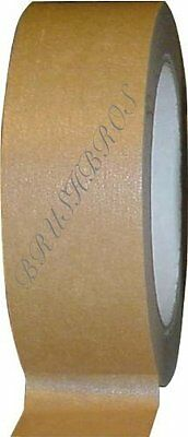 50mm Brown Adhesive Backing Tape Picture Framing 50m
