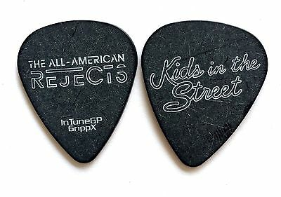 """All American Rejects Guitar  2012. """" Kids in the Street"""" Tour Pick. AAR"""