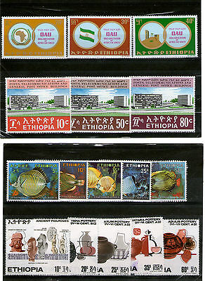 Ethiopie 1970  4 Serie Mnh Offre Speciale