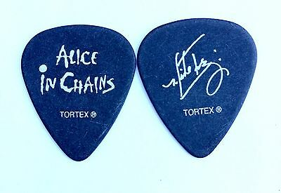Alice in Chains Guitar Pick. Mike Inez 2006 Tour Logo signature Pick